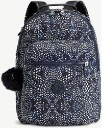 Kipling - Clas Seoul Large Nylon Backpack - Lyst