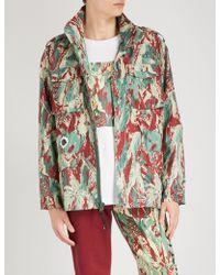 BBCICECREAM - Camouflage-print Shell Jacket - Lyst