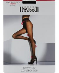 Wolford - Tummy Control Top Tights - Lyst