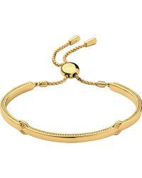 Links of London - Narrative 18ct Gold Vermeil Bracelet - Lyst