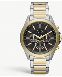 Armani Exchange - Enzo Stainless Steel Watch - Lyst