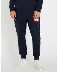 Evisu - Buddha-embroidered Cotton-jersey jogging Bottoms - Lyst