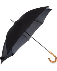 Fulton - Commissioner Black Umbrella - Lyst