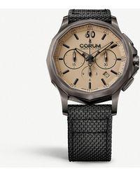Corum - 984.102.98-0603-ac13 Admirals Legend Stainless Steel And Textile Strap Watch - Lyst