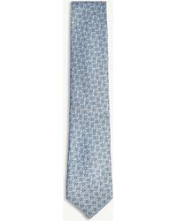 Charvet - Small Paisley Silk Tie - Lyst
