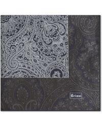 Brioni - Floral-paisley Silk Pocket Square - Lyst