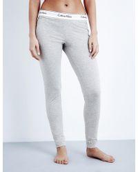CALVIN KLEIN 205W39NYC - Modern Cotton-jersey Pyjama Bottoms - Lyst