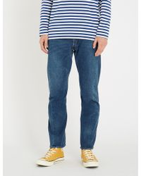 Levi's 541 Athletic-fit Mid-rise Tapered Jeans - Blue