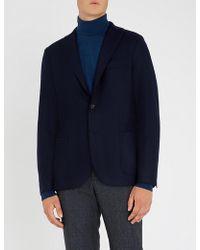 Eleventy - Regular-fit Flannel Jacket - Lyst