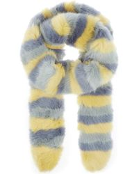Shrimps - Lilou Faux-fur Scarf - Lyst