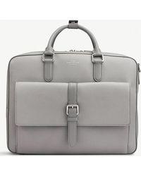 Smythson - Burlington Large Leather Briefcase - Lyst