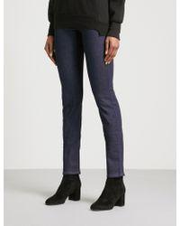Armani Jeans - Slim-fit Skinny Mid-rise Jeans - Lyst