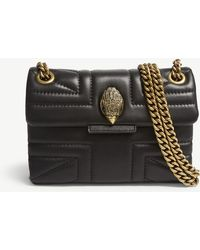 Kurt Geiger - Kensington Leather Union Jack Mini Shoulder Bag - Lyst
