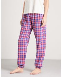 Tommy Hilfiger | Checked Cotton-flannel Pyjama Trousers | Lyst