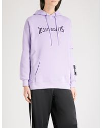 Wasted Paris - Lavender London Logo-print Cotton-jersey Hoody - Lyst