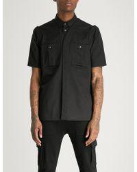KTZ - Three Ways Regular-fit Cotton-twill Shirt - Lyst