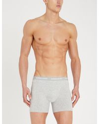 Björn Borg - Pack Of Five Perfect-fit Cotton-jersey Boxer Briefs - Lyst