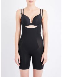 Spanx - Thinstincts Open-front Microfibre Bodysuit - Lyst