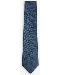 Charvet - Two-tone Mare Silk Tie - Lyst