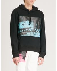 CALVIN KLEIN 205W39NYC - Andy Warhol-print Cotton-jersey Hoody - Lyst