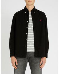 Polo Ralph Lauren - Button Down Brushed-cotton Shirt - Lyst
