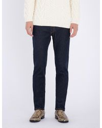 Brioni - Slim-fit Straight Stretch-denim Jeans - Lyst