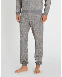 Moschino - Teddy And Logo-print Cotton Joggers - Lyst