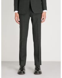 Tiger Of Sweden - Vaughn Regular-fit Straight Wool Trousers - Lyst