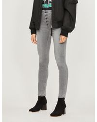 J Brand - Natasha High-rise Skinny Jeans - Lyst