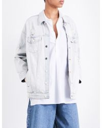 5cm - Distressed Denim Jacket - Lyst