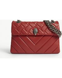 Kurt Geiger - Kensington Quilted Leather Shoulder Bag - Lyst