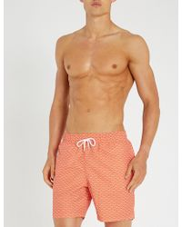 Derek Rose - Tropez Printed Swim Shorts - Lyst