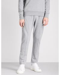 PS by Paul Smith - Seam-front Cotton-jersey Jogging Bottoms - Lyst