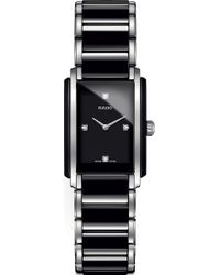 Rado - R20613712 Integral Stainless Steel And Ceramic Watch - Lyst