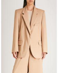 Natasha Zinko - Oversized Wool Jacket - Lyst