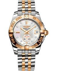 Breitling - C3733012|a725|376c Galactic 36 Automatic 18ct Rose Gold - Lyst