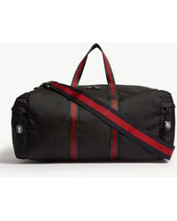 Gucci - Technical Canvas Duffle Bag - Lyst