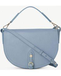 L.K.Bennett - Andrea Leather Shoulder Bag - Lyst