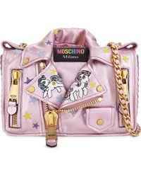 Moschino - My Little Pony Leather Cross-body Bag - Lyst