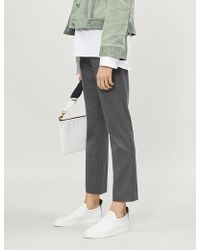 JOSEPH - Zoom Stretch-wool Trousers - Lyst