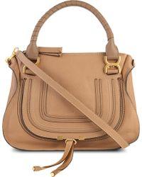 Chloé - Marcie Medium Leather Satchel - Lyst