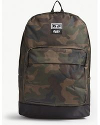 Obey - Camo Drop Out Juvee Backpack - Lyst