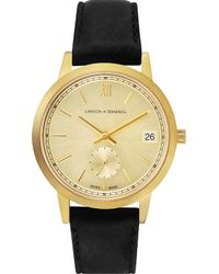 Larsson & Jennings - Saxon Gold-plated Stainless Steel Watch - Lyst
