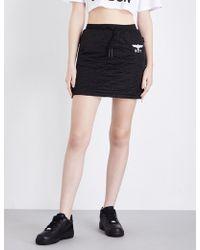 BOY London - Drawstring Quilted Mini Skirt - Lyst