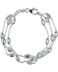 Links of London - Beaded Chain 3-row Bracelet - Lyst
