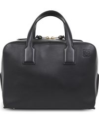 Loewe - Goya Leather Briefcase - Lyst
