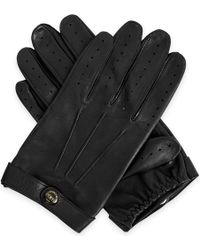 Dents - Fleming Leather Driving Gloves - Lyst