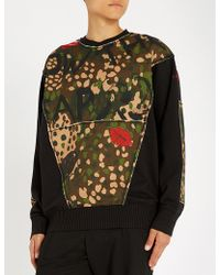 Vivienne Westwood - Camouflage-print Cotton-jersey Sweatshirt - Lyst