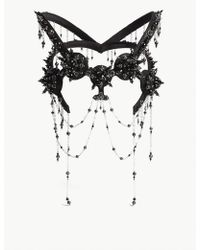House of Malakai - Hybrid Ix Embellished Headpiece - Lyst