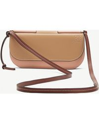 Loewe - Gate Pochette Leather Shoulder Bag - Lyst